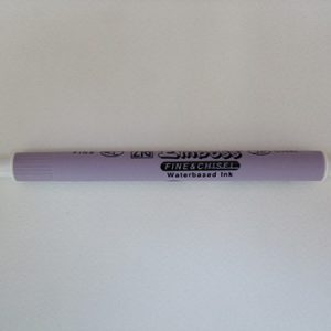 ZIG embossing stift links & spits