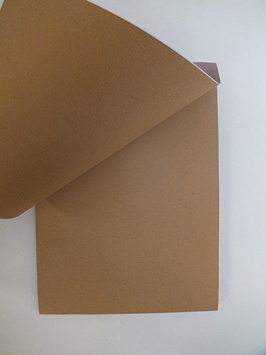 Het Bruine blok kraftpapier