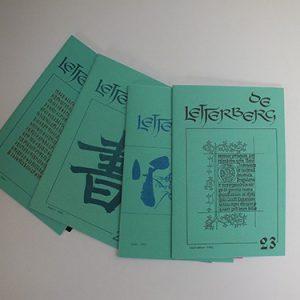 Letterberg jaargang 6 nrs. 20, 21, 22 en 23