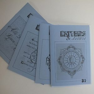 Letters & Letters jaargang 8 nrs. 28, 29, 30 en 31etters & Letter