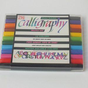 ZIG kalligrafie pakket 12 kleuren