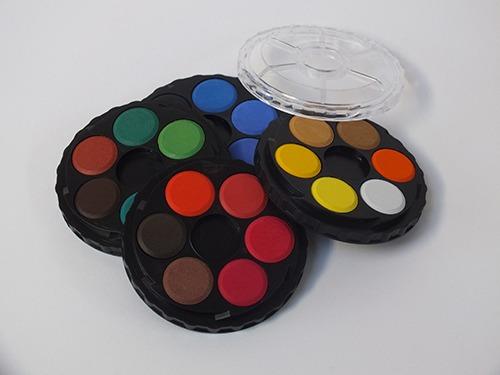 Aquarelset 24 kleuren