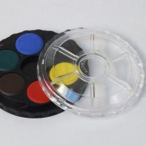 Aquarelset 6 kleuren