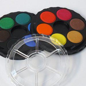 Aquarelset 12 kleuren
