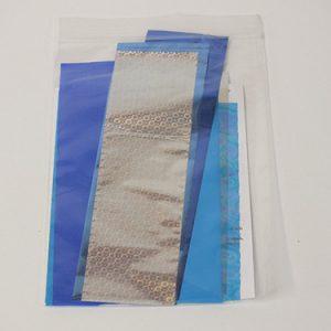 Cold foilingset blauw