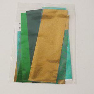 cold foilingset groen
