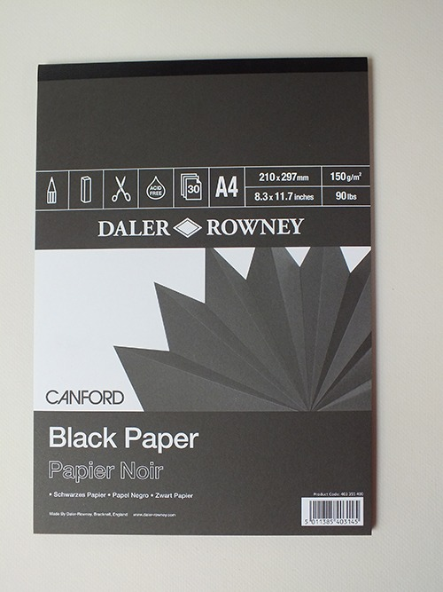 Daler Rowney Black Paper