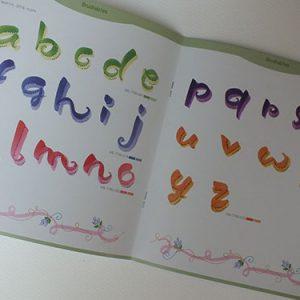 ZIG Lettering Doodle Idea Book