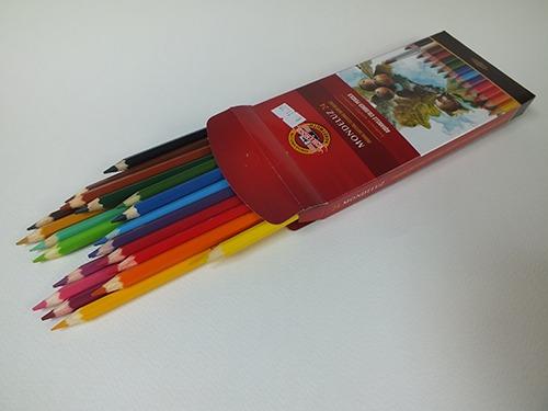 Aquarel potloden set van 12