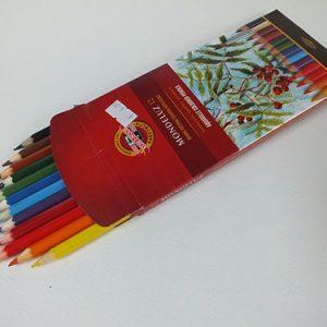 Aquarel potloden set van 24