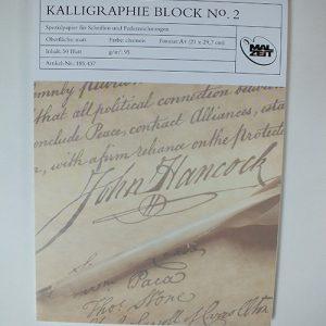 Kalligrafieblok