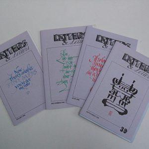 Letters & Letters jaargang 10 nrs 36, 37, 38 en 39