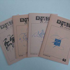 Letters & Letters jaargang 16 nrs. 60, 61, 62, 63 en 64