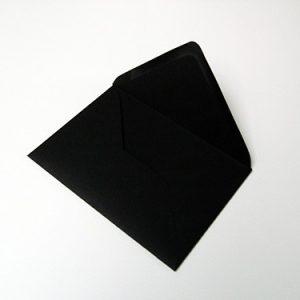 envelop zwart 11 x 15
