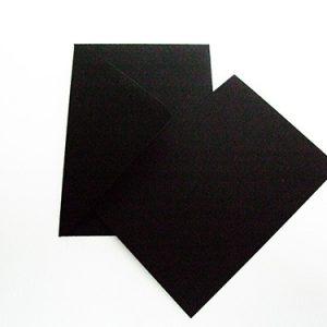 ansichtkaart zwart enkel 10,5x15 cm