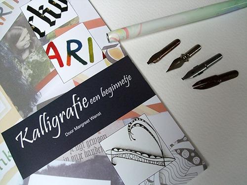 Kalligrafie een beginnetje set
