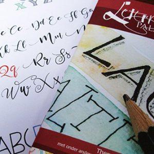Letterpalet themanummer Handletteren