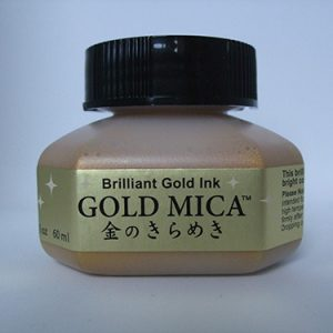 Gold Mica inkt