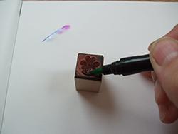 kalligrafie stempel